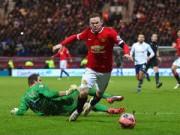 """Bóng đá Ngoại hạng Anh - Nghi án Rooney """"ăn vạ"""" kiếm penalty"""