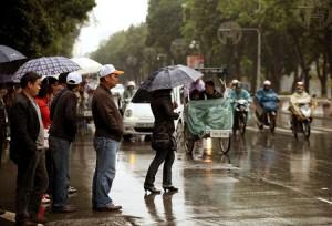 Tin tức trong ngày - Không khí lạnh tăng cường, Bắc Bộ mưa rải rác
