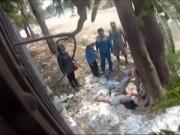 Camera giấu kín - Camera giấu kín: Người đàn ông bị điện giật trên đường