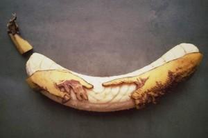 """Phi thường - kỳ quặc - Trầm trồ trước nghệ thuật điêu khắc """"chuối"""""""