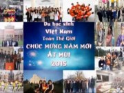Video An ninh - Clip chúc Tết xúc động của du học sinh Việt khắp 5 châu