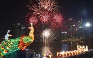 Thế giới - Ảnh đẹp đêm giao thừa Tết Ất Mùi trên khắp châu Á