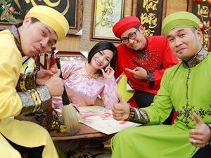 Phương Thanh du xuân cùng nhóm MTV