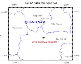 Tin tức trong ngày - Quảng Nam: Động đất liên tiếp xảy ra ở huyện Bắc Trà My