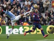 Video bàn thắng - Barca - Malaga: Sai lầm tai hại