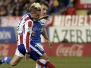 Bóng đá - Atletico - Almeria: Giải quyết chóng vánh