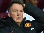 Bóng đá - Bại trận đau đớn, Van Gaal chê MU dứt điểm kém