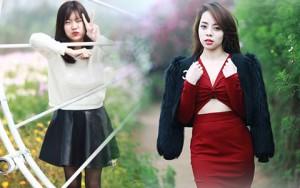 Bí quyết mặc đẹp - Sắc màu thời trang du xuân của bạn trẻ Hà Nội