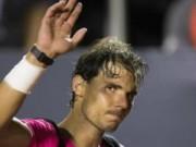 """Tennis - Nadal nếm mùi cay đắng trên """"đất mẹ"""""""