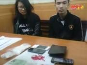 Video An ninh - Đôi nam nữ giấu lô ma túy 300 triệu đồng trong túi lộc