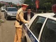 Tai nạn giao thông - CSGT 'giăng lưới' bắt xe ô tô gây tai nạn rồi bỏ trốn