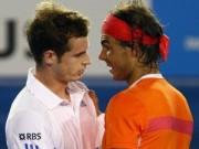 Thể thao - BXH tennis 23/2: Murray soán ngôi Nadal