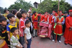 Tin tức Việt Nam - Trưa 24/2, dân Ném Thượng sẽ chém lợn giữa sân đình