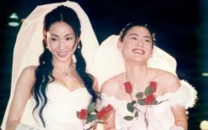 Ảnh Trương Bá Chi, Lê Tư mặc váy cưới gây tiếc nuối