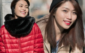 """Thời trang - Mâu Thủy Và Quỳnh Châu """"cặp kè"""" trên phố Mỹ"""