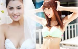 """Người mẫu - Hoa hậu - 7 mẫu Việt xinh đẹp tìm """"bến đỗ"""" bên chồng ngoại"""
