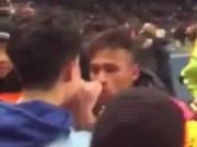 Tin bên lề bóng đá - Bị chế giễu, Neymar suýt tẩn nhau với fan Man City