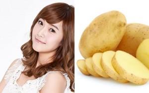 Chăm sóc da - Mặt nạ khoai tây rẻ tiền giúp da đẹp rạng rỡ