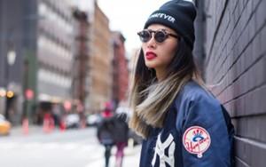Thời trang - Hoàng Thùy mặc ấn tượng dạo phố New York