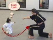 Clip Đặc Sắc - Bất ngờ với nữ võ sỹ taekwondo 3 tuổi