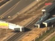 An ninh thế giới - Mỹ: Tàu hỏa đâm xe tải, 50 người bị thương