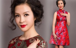 Thời trang - MC Thanh Mai trẻ trung, quyến rũ với váy ngắn