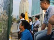 Tin bên lề bóng đá - Người hâm mộ tấm tắc khen Công Phượng, Tuấn Anh tập