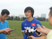 Bóng đá - U23 VN: Tuấn Anh hào hứng với giáo án của HLV Miura