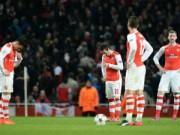 """Bóng đá - Thua sốc, Wenger cho rằng hàng thủ Arsenal đã """"tự sát"""""""