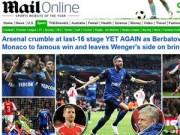 """Ngôi sao bóng đá - Báo chí Anh thay nhau chỉ trích """"Pháo thủ"""""""