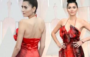 Thời trang - Sao Hollywood diện thiết kế Việt trên thảm đỏ Oscar