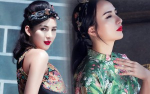 Thời trang bốn mùa - Hoa hậu Ngọc Diễm khoe vai thon với áo yếm cách tân