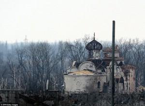 Tin tức trong ngày - Đông Ukraine hoang tàn như sau chiến tranh TG thứ 2