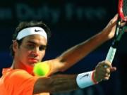 """Thể thao - Coric – Federer: Khuất phục """"Ngựa ô"""" (Bán kết Dubai)"""