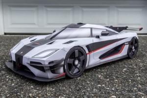 Tin tức ô tô - xe máy - Kỳ lạ những mô hình siêu xe bằng giấy như thật