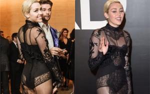 Thời trang - Miley Cyrus được khuyên không mặc nội y dưới váy mỏng