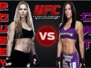 """Võ thuật - Quyền Anh - UFC: Mỹ nhân Rousey đại chiến """"người thép"""" Zingano"""