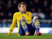 Bóng đá - Vắng nhiều trụ cột, Arsenal khốn đốn