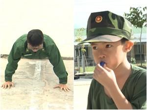 """Phim - Hoàng Bách bị con trai Trần Lực phạt """"xanh mặt"""""""
