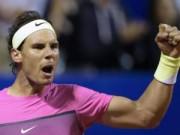 Thể thao - Nadal - Carlos Berlocq: 2 set đối lập (BK Argentina Open)