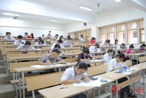 Giáo dục - du học - Kỳ thi quốc gia 2015: Cách xếp chỗ ngồi trong phòng thi