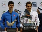 Tennis - Hạ nhanh Djokovic, Federer tự nhận may mắn