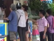 An ninh Xã hội - Camera giấu kín: Móc túi tại quán kem