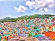 Điểm du lịch - Đã mắt với ngôi làng rực rỡ nhất Hàn Quốc