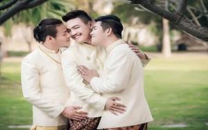 8X + 9X - Đám cưới đồng tính 3 người siêu đặc biệt ở Thái Lan
