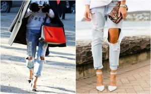 Jeans rách: Đặc quyền của nàng cá tính