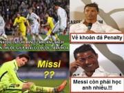 Bóng đá - Ảnh chế tuần 1/T3: Sư phụ Penaldo, đắng lòng Costa