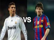 Bóng đá - Giày vàng châu Âu: Ronaldo sa sút vẫn hơn Messi