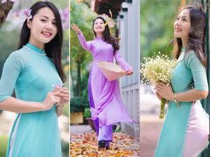 8X + 9X - Vẻ đẹp dịu ngọt của thiếu nữ giữa sắc xuân