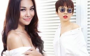 Thời trang bốn mùa - Mỹ nữ Việt vẫn quyến rũ dù mặc sơ mi trắng đơn giản